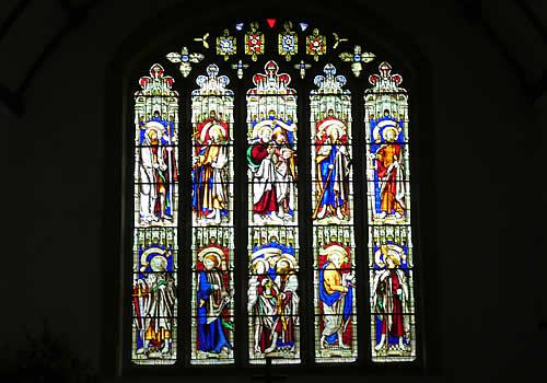 Photo Gallery Image - Stained Glass Window St Mabyn Church